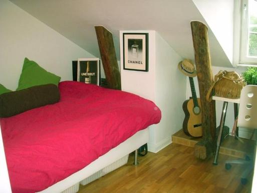 BoligBytte til,Sweden,Stockholm, 0k, N,Third bedroom with 160x200 cm bed, small desk and