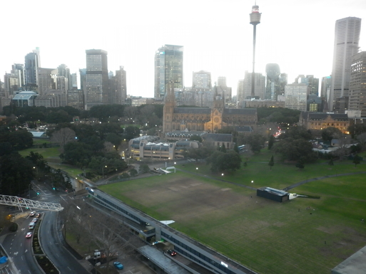 Home exchange in,Australia,WOOLLOOMOOLOO,View from roof top.