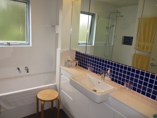 Home exchange in,Australia,South Coogee,Bathroom - renovated in 2014.