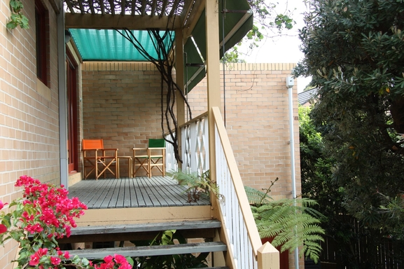 Home exchange in,Australia,South Coogee,Deck.