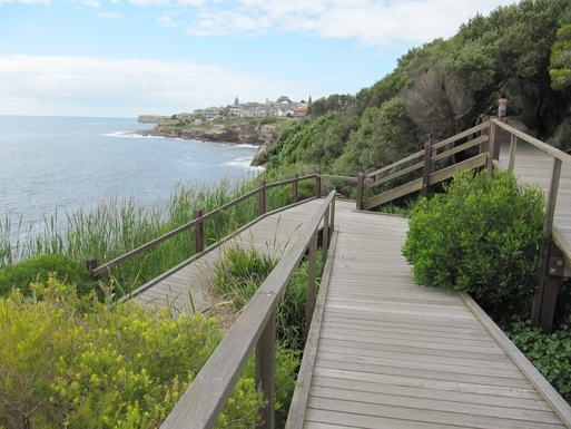 Home exchange in,Australia,South Coogee,Part of the Sydney Coastal Walk near Coogee.