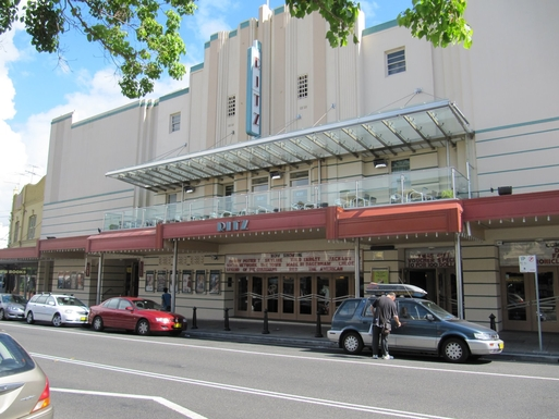 Home exchange in,Australia,South Coogee,The charming Randwick Ritz heritage cinema.