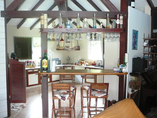 BoligBytte til,Martinique,Diamant, 1km, N,Kitchen & bar