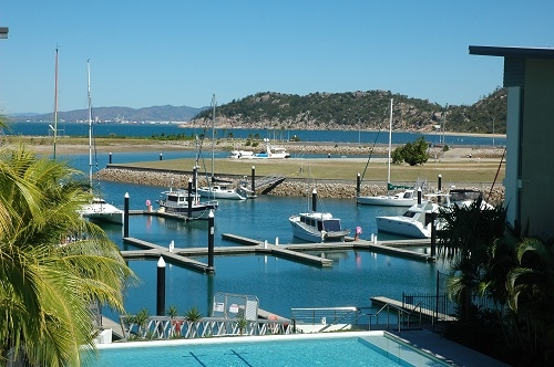 Home exchange in,Australia,NELLY BAY,View of the harbour from our balcony