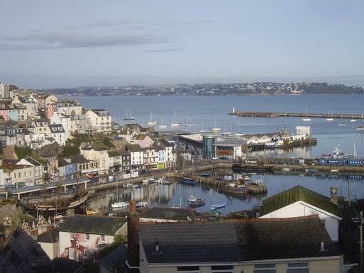 View of Harbour & Torbay from Lounge and Master Be
