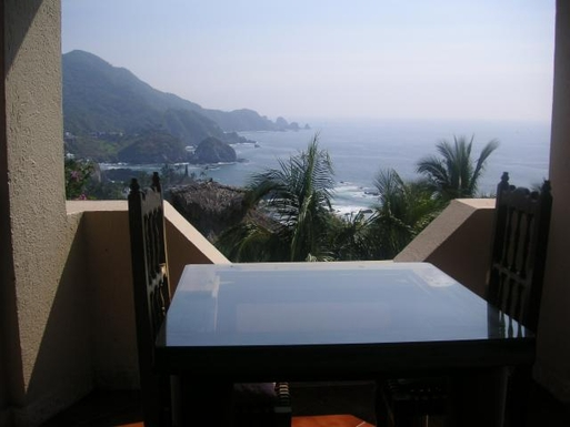 BoligBytte til,Mexico,Manzanillo,View from terrace off Livingroom of Casa Maya