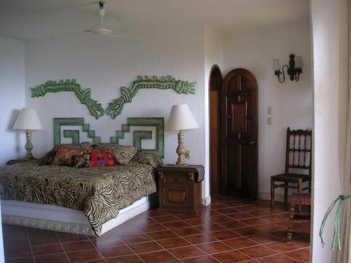 BoligBytte til,Mexico,Manzanillo,Master Bedroom of Casa Maya