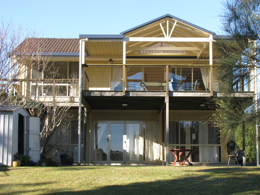 Home exchange in,Australia,SUSSEX INLET,Rear View from jetty