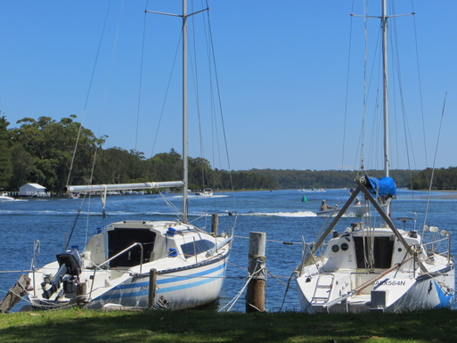 Home exchange in,Australia,SUSSEX INLET,Inlet view fron the ocean