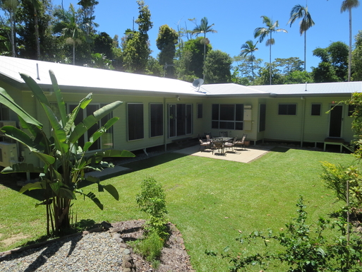 Home exchange in,Australia,CAIRNS,Rear of Mission Beach house
