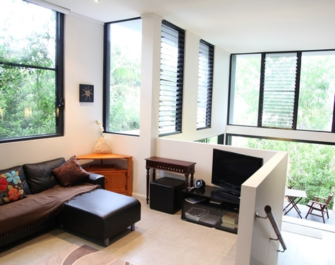 Home exchange in,Australia,POTTSVILLE,Pottsville light filled living areas. You can see