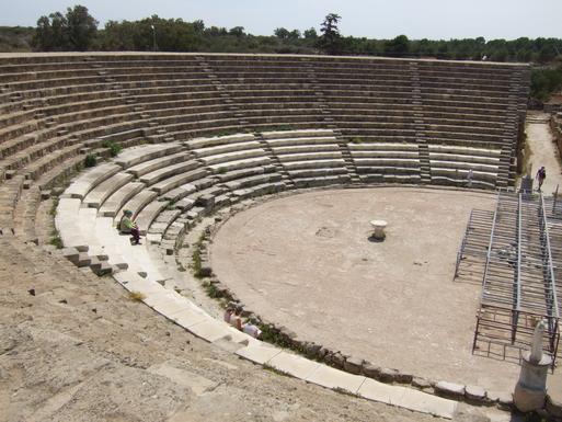 Home exchange in,Cyprus,Karaman,Amphitheatre at Salamis