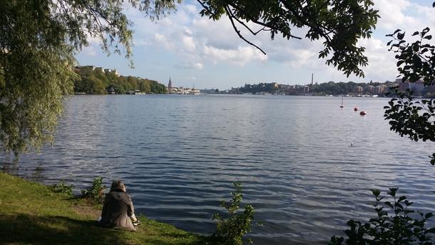 BoligBytte til,Sweden,Stockholm,close to us with City Hall in background