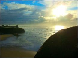 View, from just beside our house, over Ballybunion