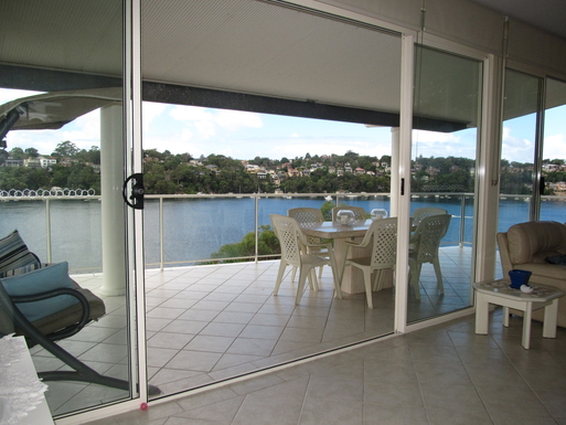 Home exchange in,Australia,GYMEA BAY,TOP LEVEL MAIN BALCONY IS A GREAT PLACE TO RELAX