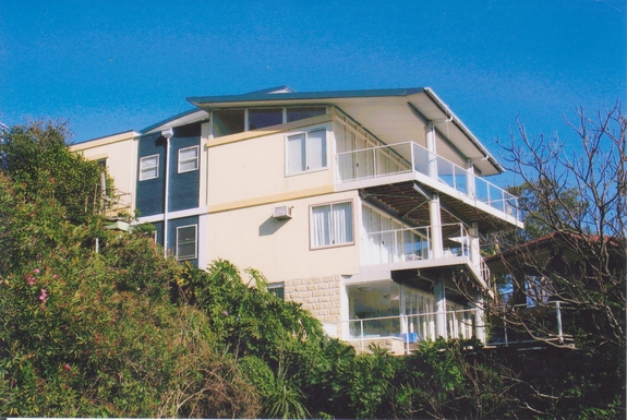 Home exchange in,Australia,GYMEA BAY,SIDE AS SEEN FROM WATER