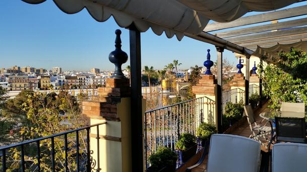 Vista  terraza ppal.