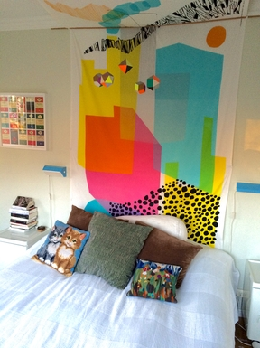 BoligBytte til,Sweden,Stockholm,Main bedroom, king size bed