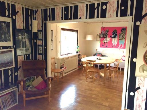 BoligBytte til,Sweden,Stockholm,Dining area, seen from the living room