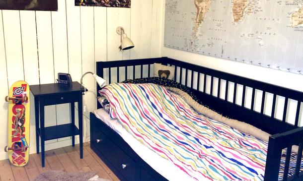 BoligBytte til,Sweden,Stockholm,Bedroom with sofabed