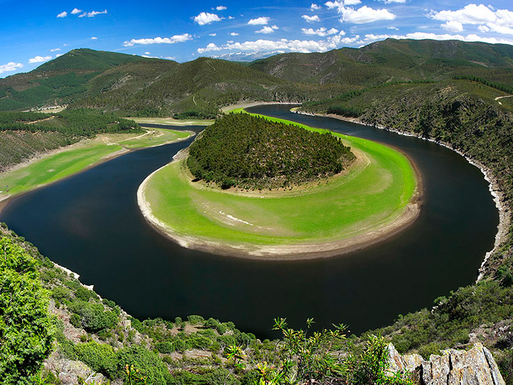 BoligBytte til,Spain,Miranda del Castañar,Meandering of Alagon river