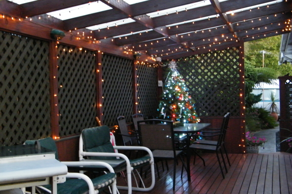 BoligBytte til,New Zealand,Nelson,Deck ready for Christmas