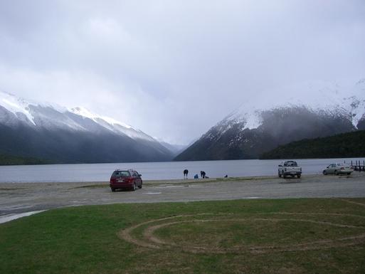 BoligBytte til,New Zealand,Nelson,Lake Rotoiti on a wintery day
