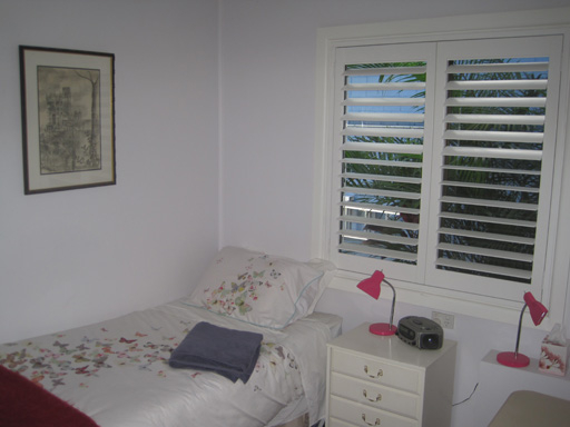 Home exchange in,Australia,Sydney's Northern Beaches,Guest Bedroom