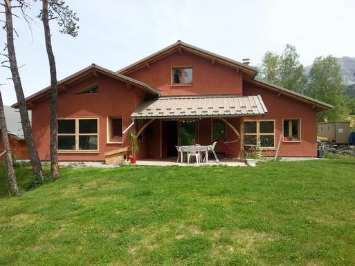 notre maison de plein pied avec terrasse et grand