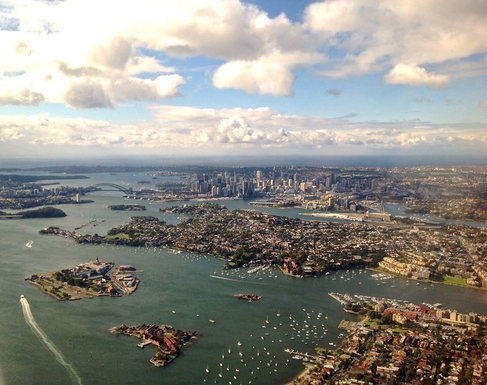 Home exchange in,Australia,RANDWICK,As you fly into Sydney