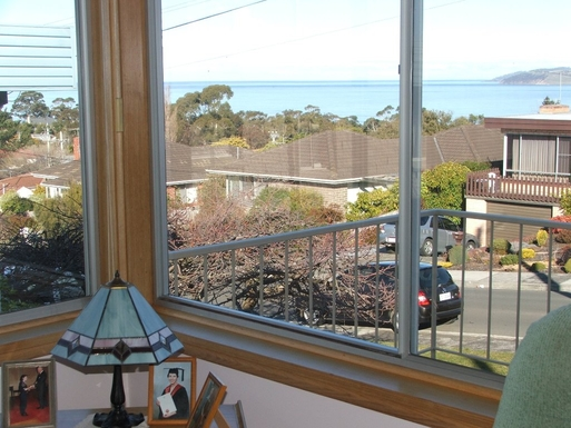 Home exchange in,Australia,BLACKMANS BAY,View from the lounge room