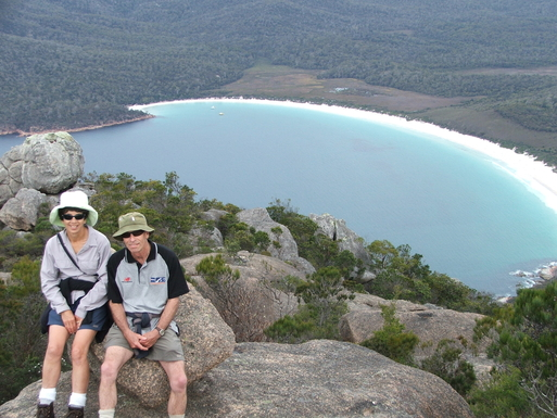 Home exchange in,Australia,BLACKMANS BAY,Bushwalking at Coles Bay on Tasmania's east coast