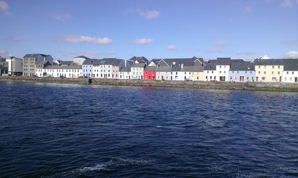 Home exchange in,Ireland,Galway City,The Long Walk, Galway city