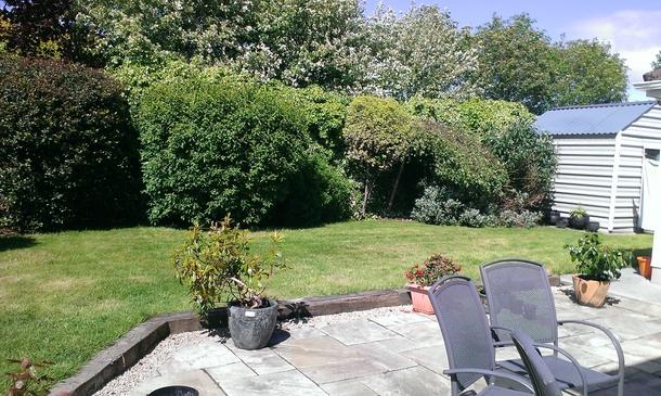 Home exchange in,Ireland,Galway City,Back Garden