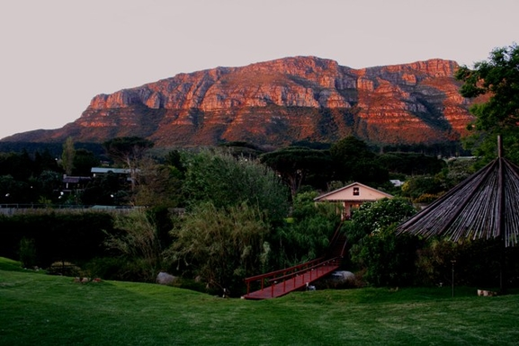 BoligBytte til,South Africa,Hout Bay / Cape Town,Our view at sunset