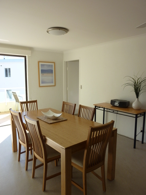 Home exchange in,Australia,Noosaville,Dining area