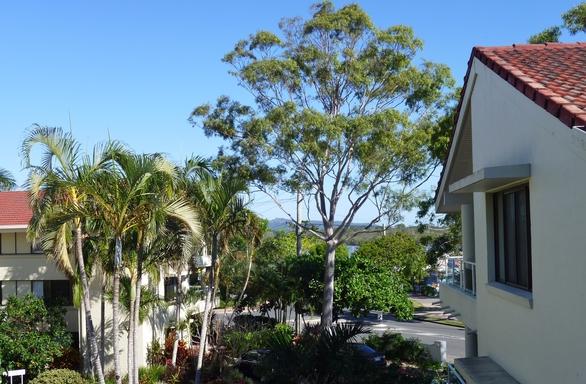 Home exchange in,Australia,Noosaville,View from front verandah