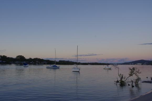 Home exchange in,Australia,Noosaville,Sunset again