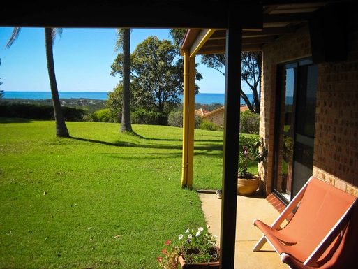 Home exchange in,Australia,Sandy Beach,View from front courtyard.