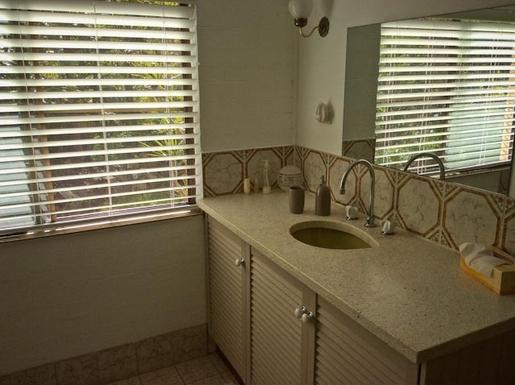 Home exchange in,Australia,Sandy Beach,Basin in bathroom.