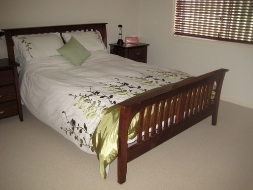Home exchange in,Australia,BRIDGEMAN DOWNS,Second bedroom. There are another 2 bedrooms.