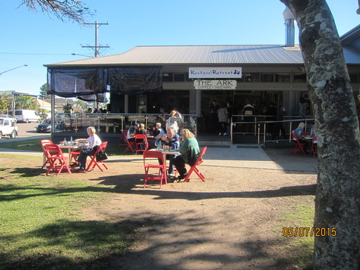 Home exchange in,Australia,NORAH HEAD,One of our beach side cafes