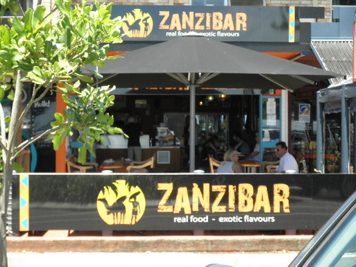 Home exchange in,Australia,Kingscliff,Zanzibar Cafe - Marine Parade
