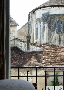 BoligBytte til,France,Palluau sur Indre,11th Century priory view from bedroom