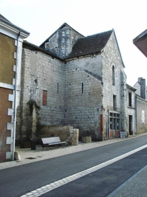 BoligBytte til,France,Palluau sur Indre,Front of 11th Century Priory