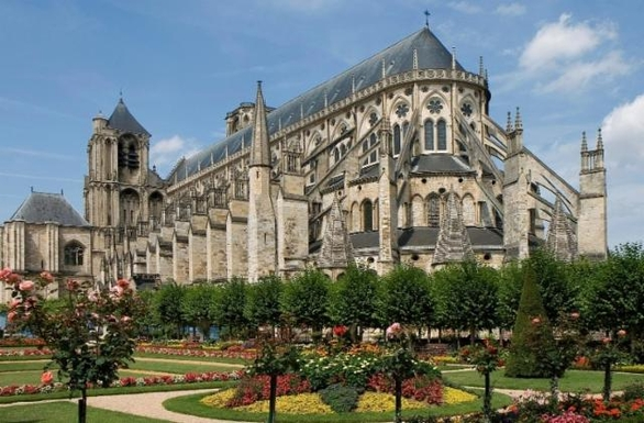BoligBytte til,France,Palluau sur Indre,Bourges cathedral (UNESCO world heritage site)