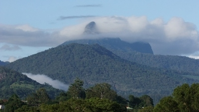 "Home exchange in,Australia,Kingscliff,Mount Warning - ""The Cloud Catcher"""