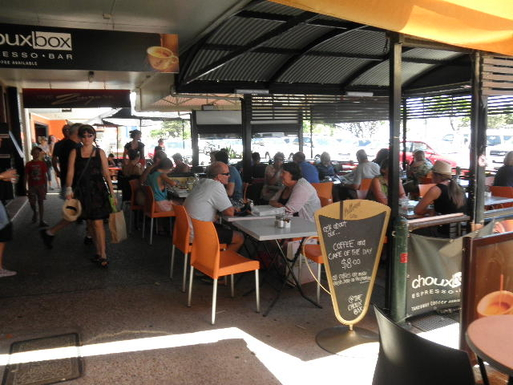 Home exchange in,Australia,Kingscliff,Choux Box Cafe - alfresco dining