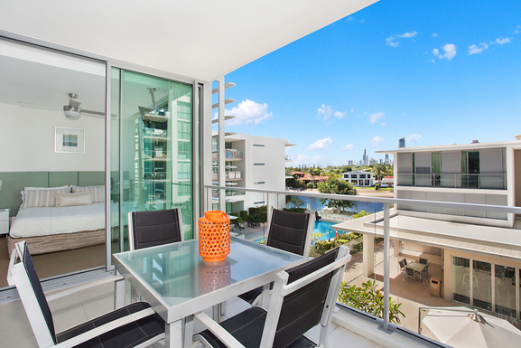 Home exchange in,Australia,broadbeach,Sunny appartment close to town, beach and river