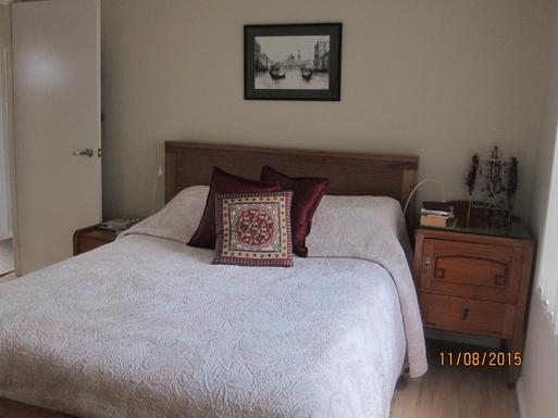 Home exchange in,Australia,NORAH HEAD,Master bedroom